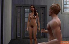 2021 الرسوم المتحركة الإباحية مع أميرة النار الجميلة