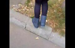 تدخل العاهرة من بوخارست البساتين لتمارس الحب مع أليكس